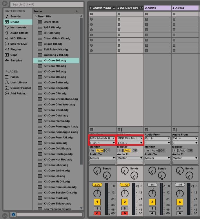 Akai Pro MPK Mini MKII: Setup with Ableton Live Part II | Akai